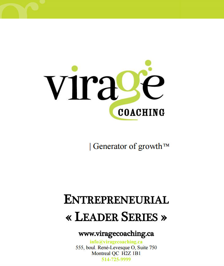 <strong>Virage Coaching specializes in group coaching and distinguishes itself via a hybrid coaching program that focuses on meeting personal and professional life goals.</strong>